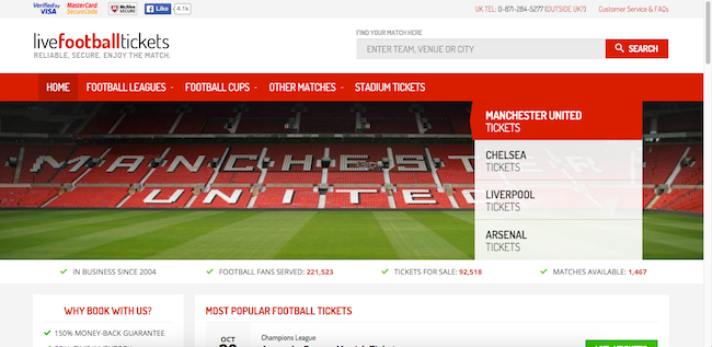 Livefootballtickets.com Review