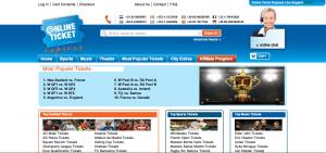 Online Ticket Express Screenshot
