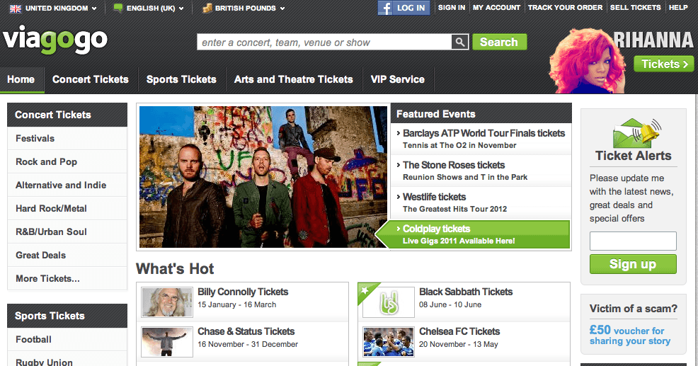 viagogo review