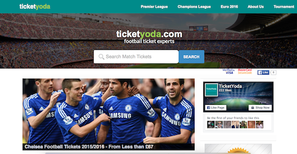 TicketYoda.com Review – Football Tickets for UK and Europe