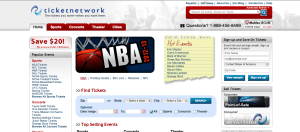 ticketnetwork screenshot