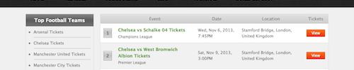servefootballtickets.com screenshot