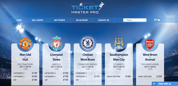 ticketmasterpro screenshot