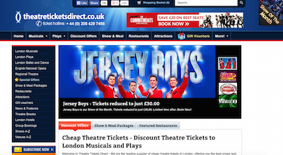 TheatreTicketsDirect Review