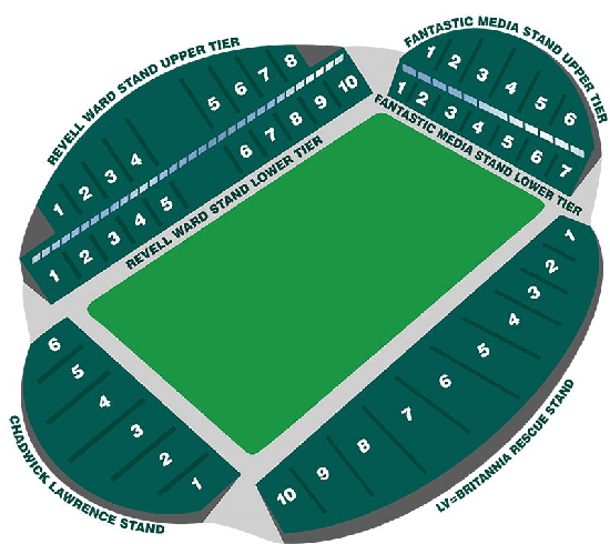 Johns Smiths Seating Map